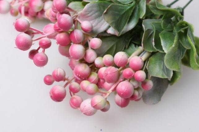 рябина морозная (6 шт в уп)  ga818 1123 искусственные растения