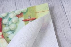 салфетка декупажная  24х24см фруктовый шабли240201