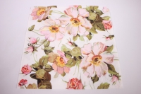 Салфетка декупажная 33*33 Цветы пастель TL325901