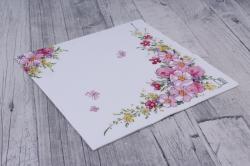 Салфетка декупажная 33*33 Милые цветы  211350