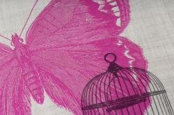 салфетка декупажная 33*33 пьемонт бабочка  1331927