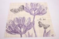 Салфетка декупажная 33*33 Пьемонтская бабочка 1331541
