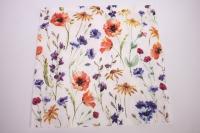 Салфетка декупажная 33*33 Полевые цветы TL567000
