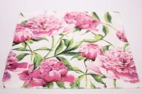 Салфетка декупажная 33*33 Розовые пионы TL572000