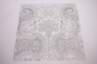 Салфетка декупажная 33*33 Сказочный орнамент серебряный SDL000108