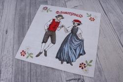 салфетка декупажная 33*33 танец lu111360
