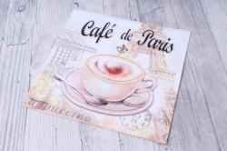 Салфетка декупажная 33х33см  Кафе в Париже  13311665