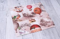 Салфетка декупажная 33х33см  Воздушные шары  211705