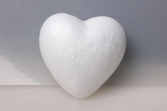 Сердце пенопласт объемное  d=6см