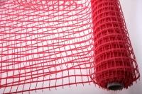 Сетка  Альпс крупная клетка  (53см на 6 ярд) - Красный