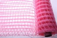 Сетка  Альпс крупная клетка  (53см на 6 ярд) - Розовый