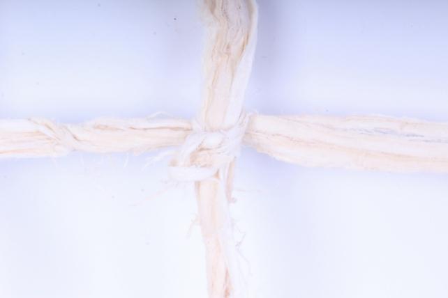 сетка декоративная (древесная кора), 40*50см, отбеленная