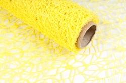 Сетка Крошет 50см*5ярд желтый 2590  Н