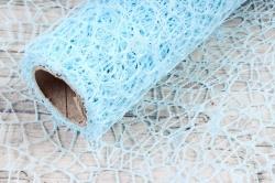 Сетка Крошет 50см*5ярд голубой 2705  Н