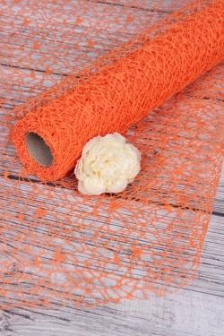 Сетка Крошет 50см*5ярд оранжевый  2699Н