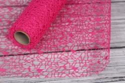 Сетка Крошет 50см*5ярд розовый (Н)