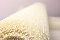 сетка рогожка натуральная шампань (54см х 8ярд)