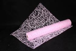 Сетка Сизаль Искусственная 54см * 5м светло розовый UM-18  (Н)