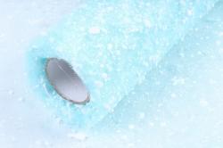 Сетка- Снег К  (50см* 6ярд) Бирюзовая  Арт00053308
