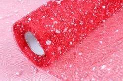 Сетка- Снег К  (50см* 6ярд) Красная  Арт00053310