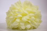 шар-цветок средний (d=15см) лимон (код 8351)