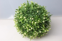Шар декоративный зеленый Полянка D=25см