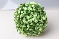 шар декоративный зеленый самшит d=15см