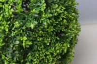 шар декоративный зеленый самшит  d=25см