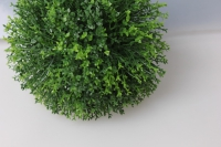 шар декоративный зеленый туя  d=15см