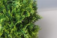 шар декоративный зеленый туя d=25см