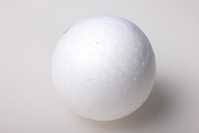 Шар пенопластовый 10см (1шт) В-10