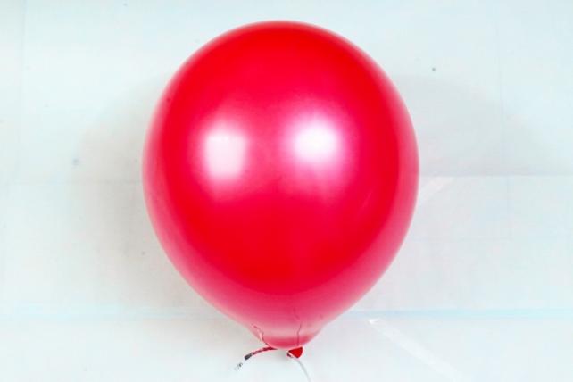 """Шар (12""""/30см) Красный, пастель, 100шт Арт.612102"""
