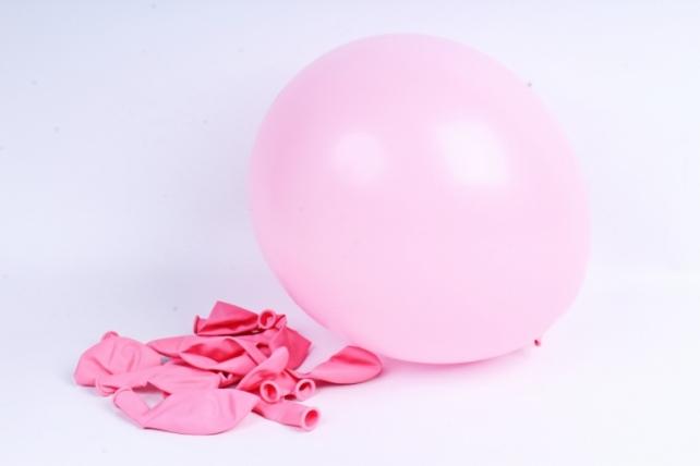 """Шар 12""""/30см Розовый (009), пастель, (12 шт.), 230337"""
