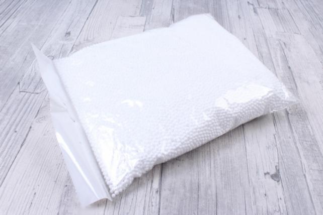 Шарики пенопласта 3-4мм, Арт. Ш-04, упаковка 15гр