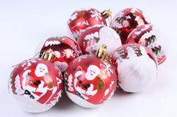 Шары новогодние (8шт) DN-31560 (И)