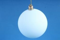 Шар-заготовка для декора голубой матовый диаметр 8 см