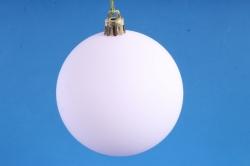 Шар-заготовка для декора розовый матовый диаметр 8 см
