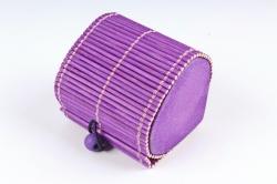 Шкатулка Сердце фиолет