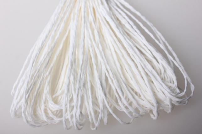 Шнур бумажный Белый 2мм х 47 м