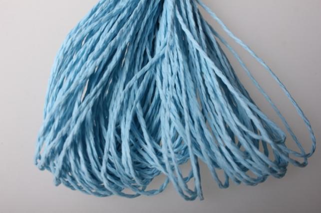 Шнур бумажный Голубой 2мм х 47 м