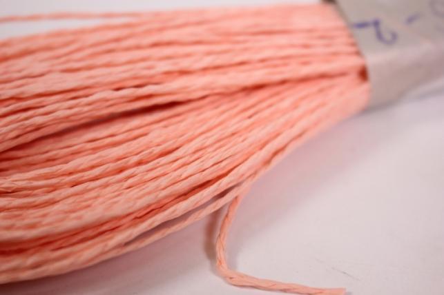 шнур бумажный коралл 2мм*47 м  9484 spg6