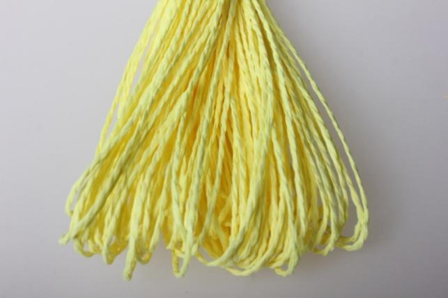 Шнур бумажный Лимон  2мм х 47 м