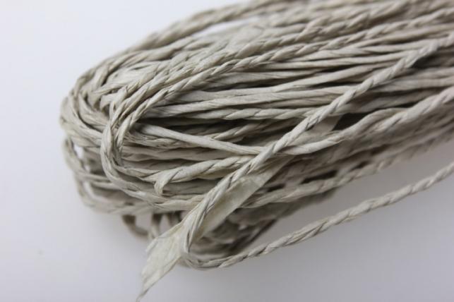 Шнур бумажный Натуральный  2мм х 47 м