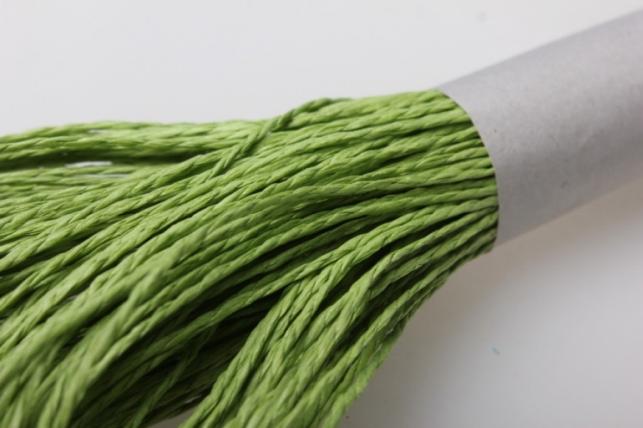 шнур бумажный оливковый  2мм х 47 м