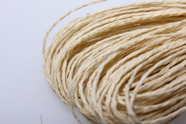 шнур бумажный песочный  2мм х 47 м