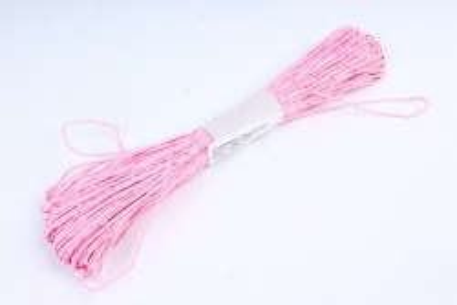 Шнур бумажный Средне-розовый   2мм*47 м  2906  SPG23