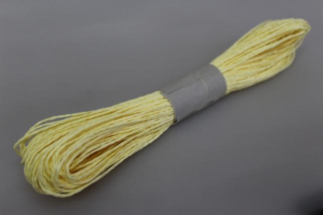 Шнур бумажный Светло-желтый 2мм х 47м