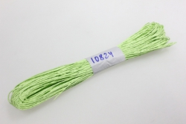 шнур бумажный светло-салатовый 2мм х 47 м