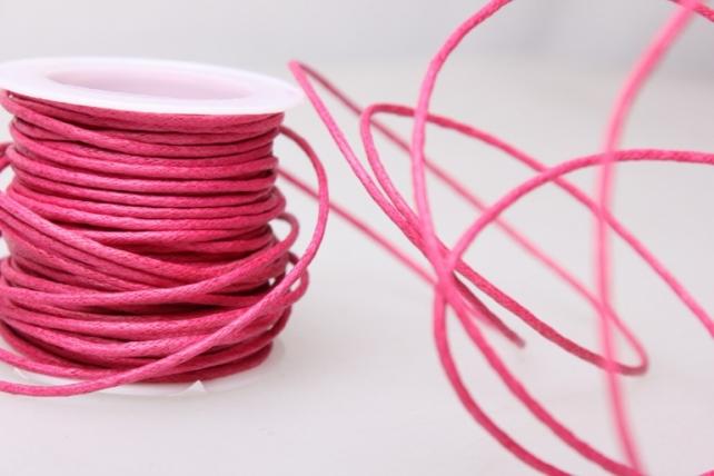Шнур декоративный на катушке  2мм*10м - Розовый