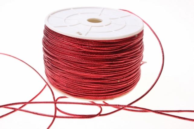 Шнур на катушке (2мм х 100м) Э - Красный